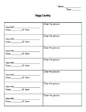 Manipulative Counting Recording Sheet