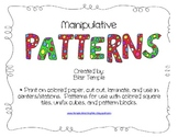 Manipulative Patterns for Centers or Stations