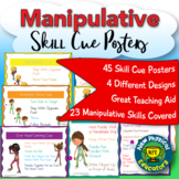 Comprehensive Manipulative Skill Cue Posters for Physical
