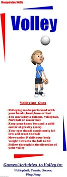 Manipulative Skill Display Banners: 9 Large Vertical PE Banners