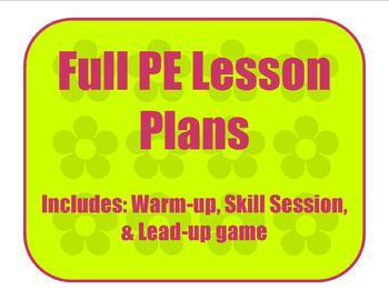 Manipulative Skills - Kicking Full Lesson Plan