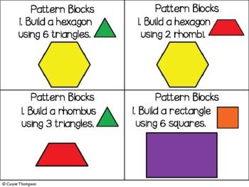 Manipulative Math Task Cards