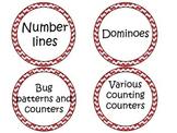 Manipulative Tubs :: labels