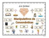 """B5 Manipulativos de Consonanticas (CCV) """"BLENDS"""""""