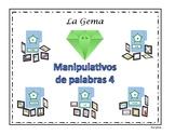 B3 (c) Manipulativos  de Palabras 4 letras B, J, G, C (suave), G (suave), V.