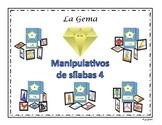 B2 (c) Manipulativos  de Silabas 4 letras B, J, G, ce-ci, ge-gi, V