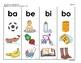 B2 (c) Manipulativos  de Silabas 4 letras B, J, G, ce-ci,