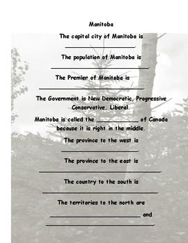 Manitoba  Living in Manitoba