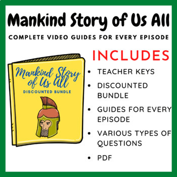 Mankind: The Story of All of Us Episodes 1-12 (Complete Series)
