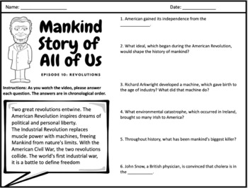 Mankind Story of All of Us: Episode 10 (Revolutions)
