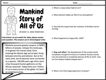 Mankind Story of All of Us: Episode 12 (New Frontiers)