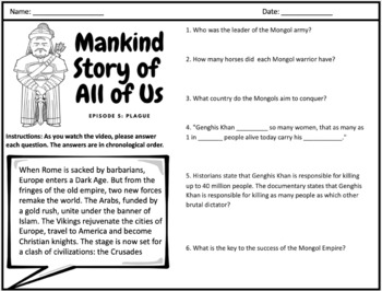 Mankind Story of All of Us: Episode 5 (Plague)