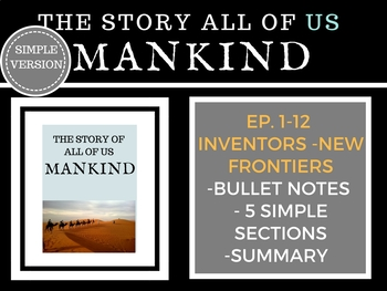 Mankind The Story of all of US  Episode 1-12 History Channel
