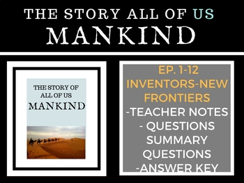 Mankind The Story of all of US  Episodes 1-12 GIANT Bundle