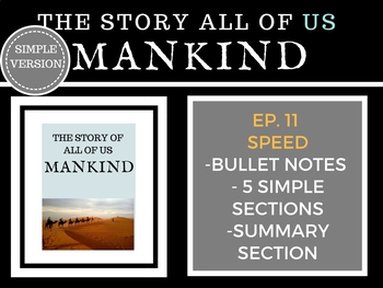 Mankind The Story of all of US Speed Episode 11 History Channel