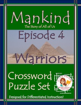Mankind the Story of All of Us Episode 4 Worksheet Puzzles