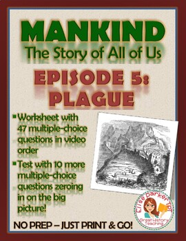 Mankind the Story of All of Us Episode 5 Worksheet and Quiz: Plague