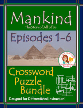 Mankind the Story of All of Us Episodes 1-6 PUZZLE BUNDLE