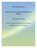 Mankind the Story of All of Us: close read of  video - The Printing Press