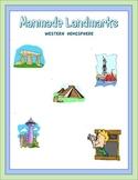 Manmade Landmarks Western Hemisphere