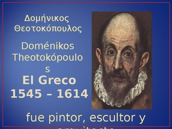 Mannerism - El Greco (art)