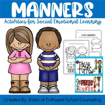 Manners Activity Pack