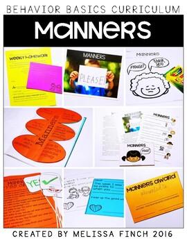 Manners-  Behavior Basics Program for Special Education