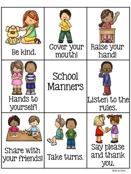 Manners Chart