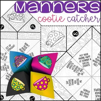 Manners Cootie Catcher