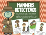 Manners Detectives! Pragmatic Language, Social Skills Game!