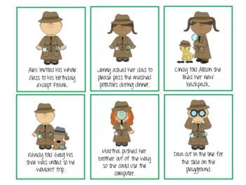 Manners Detectives! Pragmatic Language, Social Skills Game!