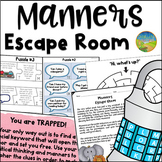 Manners Escape Room