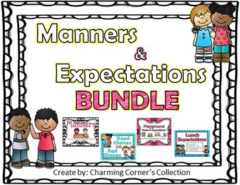 Manners & Expectations Bundle Pack