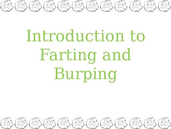 Manners- Farting and Burping