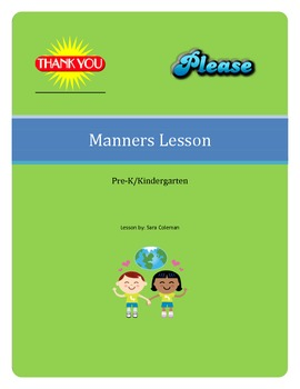 Manners Lesson