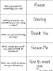 Manners Match & Sort