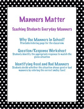 Manners Matter