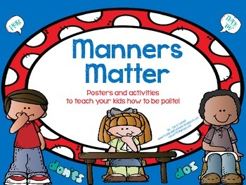 Manners Matter:  Teaching Kids To Use Manners And How To Be Polite