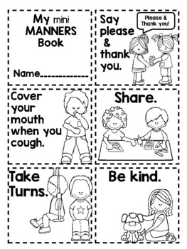 It is an image of Fabulous Free Printable Manners Worksheets