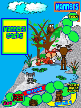 Manners Mountain: A Board Game All About Manners for Students of All Ages