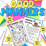 Manners Police; practicing good manners and polite vocabulary