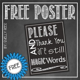 Good Manners Poster FREE