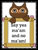 Manners Printables