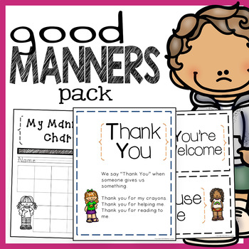 Good Manners: A Character Education Bundle