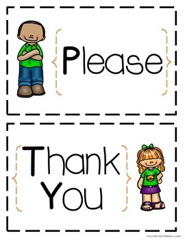 Good Manners - Manners Posters, Flash Cards, and Reward Charts