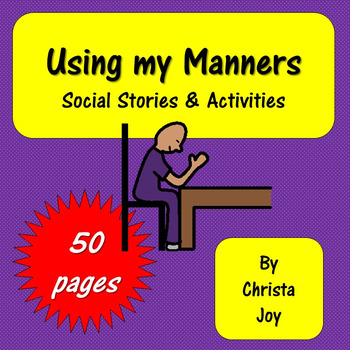 Manners Social Stories & Activities