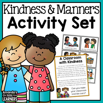 Manners, Kindness and Friendship Activities