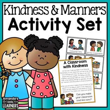 Manners Activity Set
