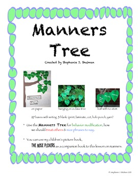 Manners Tree