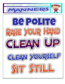 Manners and Social Etiquette PDF 30 Pages